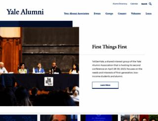 aya.yale.edu screenshot