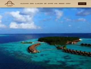 ayadamaldives.com screenshot