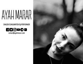 ayahmarar.com screenshot