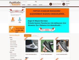 ayakkabikazani.net screenshot