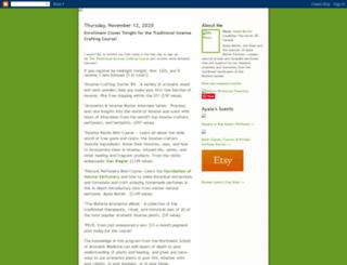 ayalasmellyblog.blogspot.ca screenshot