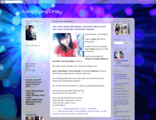ayangayangcinta.blogspot.com screenshot