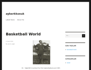 ayberkkonuk.com screenshot