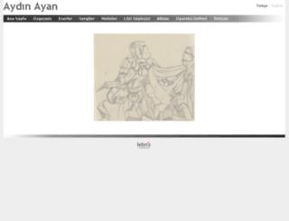 aydinayan.com screenshot
