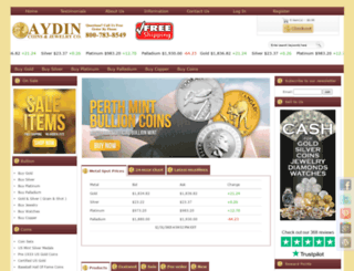 aydincoins.com screenshot