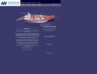 aydon-consultants.com screenshot
