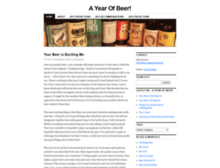 ayearofbeer.wordpress.com screenshot