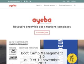 ayeba.com screenshot
