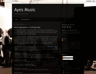 ayesmusic.blogspot.com screenshot