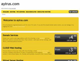 ayirus.com screenshot
