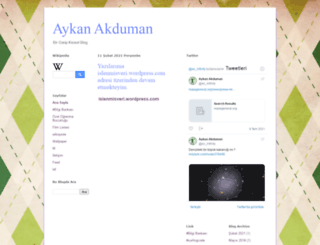 aykanakduman.blogspot.com screenshot