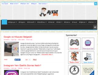 aykutaksu.com screenshot