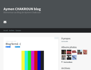 aymen-chakroun.hautetfort.com screenshot