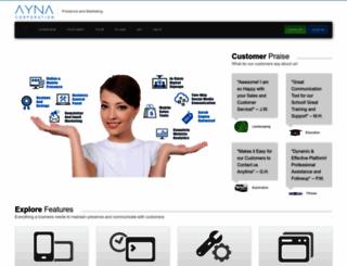 ayna.com screenshot