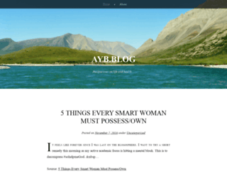 ayobeedotcom.wordpress.com screenshot