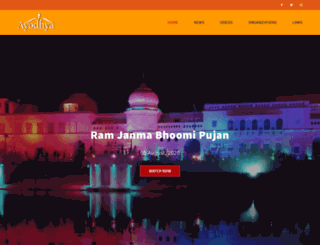ayodhya.com screenshot