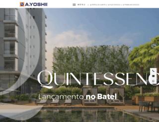 ayoshii.com.br screenshot