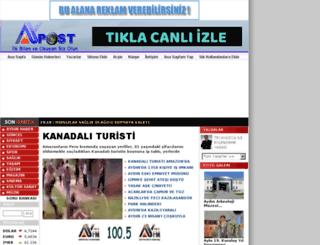 aypost.com screenshot