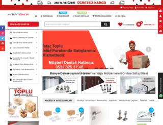 ayrintishop.com screenshot