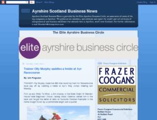 ayrshirescotlandbusinessnews.com screenshot