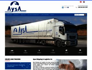 aysa.com screenshot