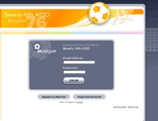 ayso76.net screenshot
