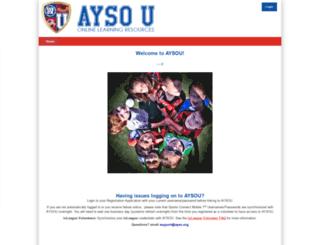 aysotraining.org screenshot