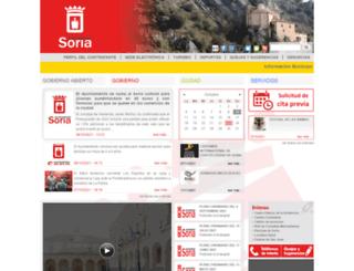 ayto-soria.org screenshot
