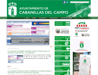 aytocabanillas.org screenshot