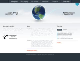 ayuads.com screenshot
