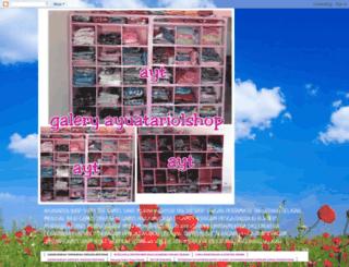 ayuatariolshop.blogspot.com screenshot