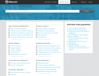 ayuda.billpocket.com screenshot