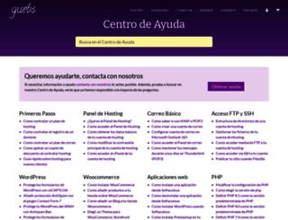ayuda.guebs.com screenshot
