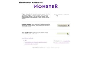 ayuda.monster.es screenshot