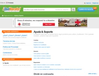 ayuda.quebarato.com.py screenshot