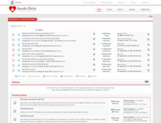 ayudadieta.com screenshot