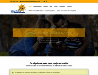 ayudayoptimismo.org.mx screenshot
