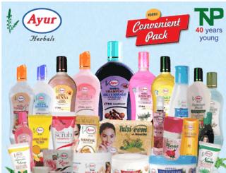 ayurherbals.com screenshot