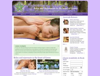 ayurveda-retreats.co.uk screenshot