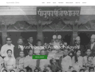 ayurvedicclinic.net screenshot