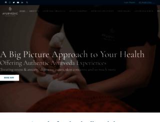 ayurvedicwellnesscentre.com.au screenshot