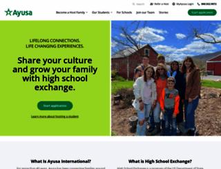 ayusa.org screenshot