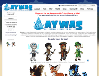 aywas.org screenshot