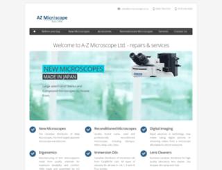 az-microscope.on.ca screenshot
