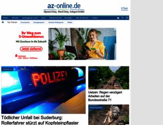az-online.de screenshot