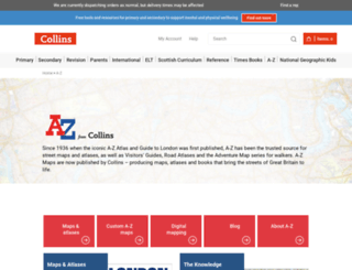 az.co.uk screenshot