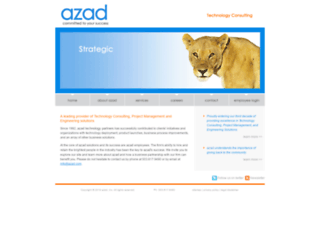 azad.com screenshot