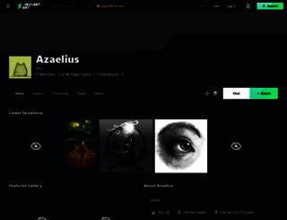 azaelius.deviantart.com screenshot
