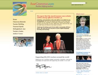 azargrammar.com screenshot