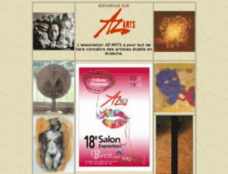 azarts.fr screenshot